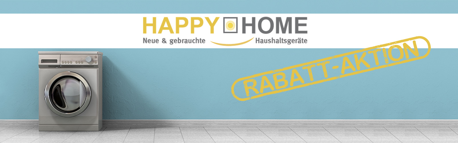 Happy Home Köln - zur Rabattaktion